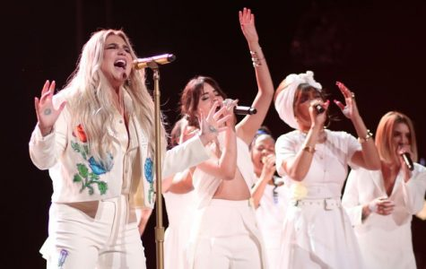 Praying about Kesha's Grammy performance