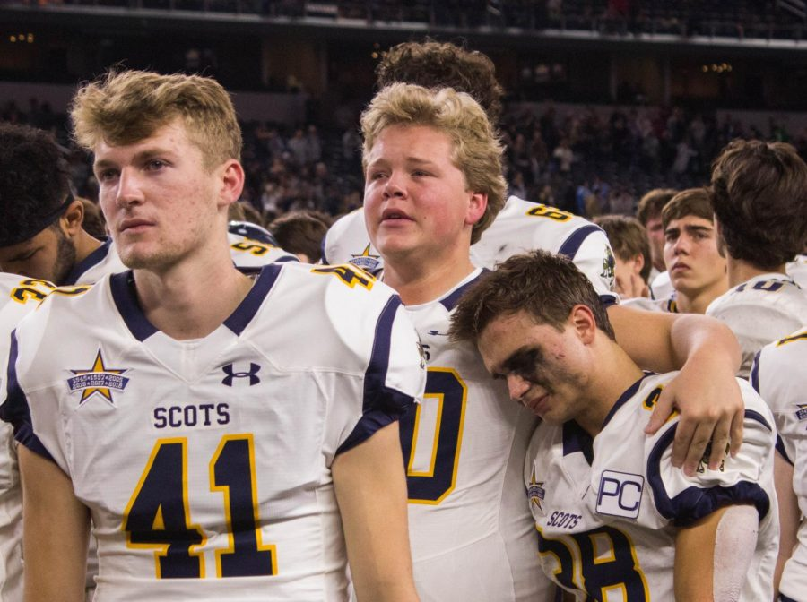 Photos: Devastating Regional Loss Ends Varsity Football's Season