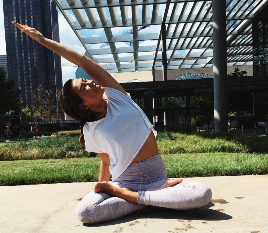 Scotlight: Ramsey Watkins Leads As Yoga Instructor