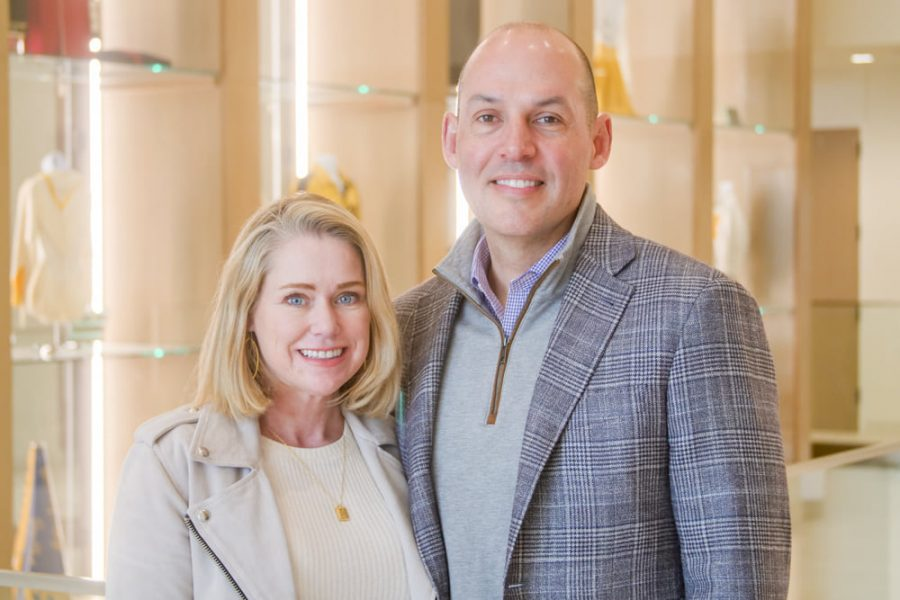 Pictured is Adam and Janelle Hickey who donated the first-ever endowment gift for HPISD Special Education.  Their endowment will support the academic needs of students and teachers across all grade levels of the special education department.