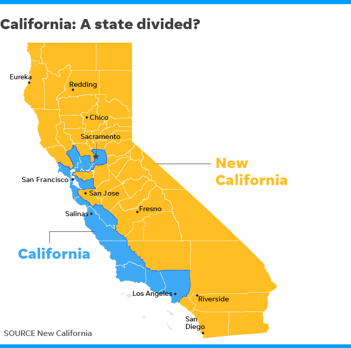 Group wants independence from rest of California