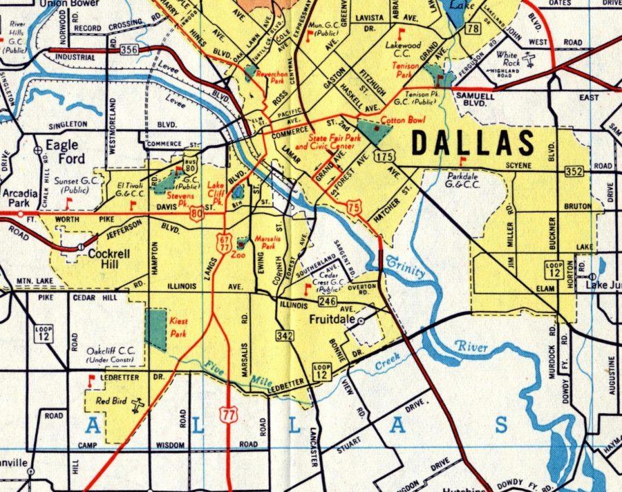 Movement to change Dallas street names