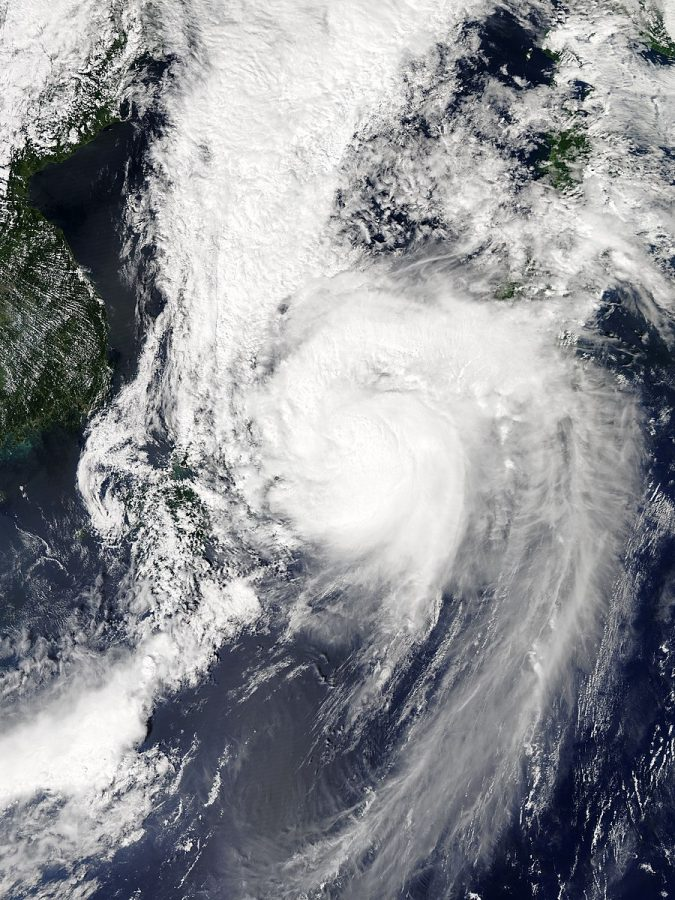 Typhoon Jebi hits Japan
