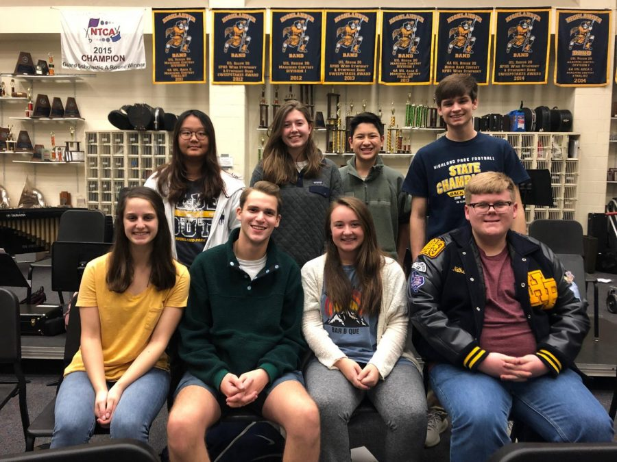 Eight students qualify for All-State Band