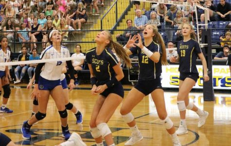 Lady Scots Volleyball Crushes RL Turner 3-0