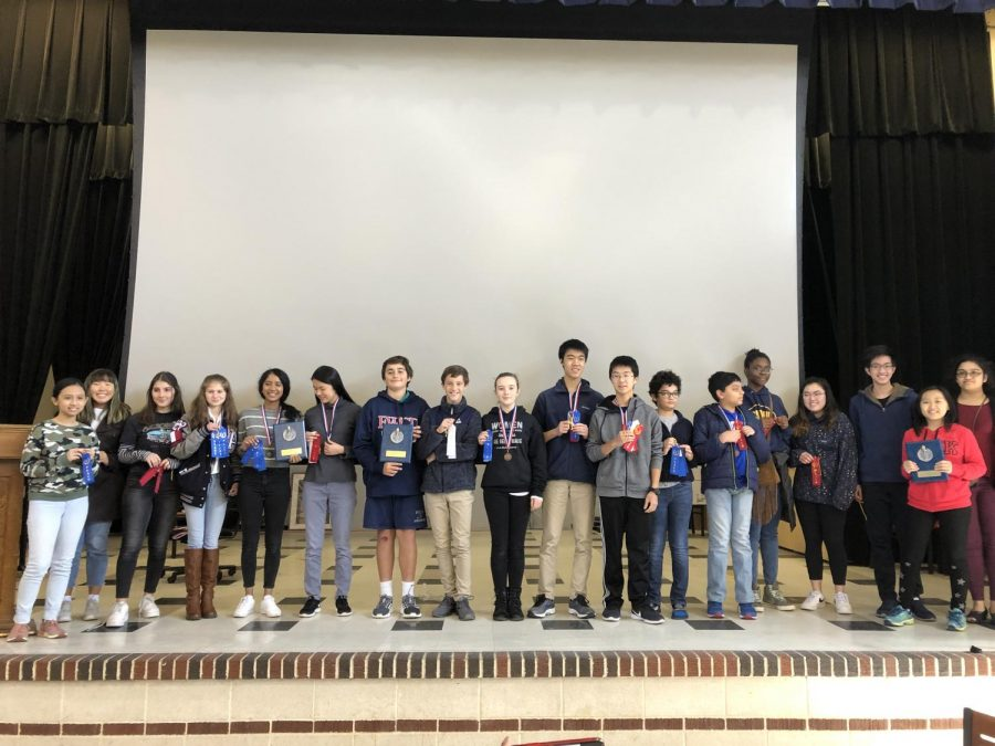Seniors Organize, Host State-Wide French Competition