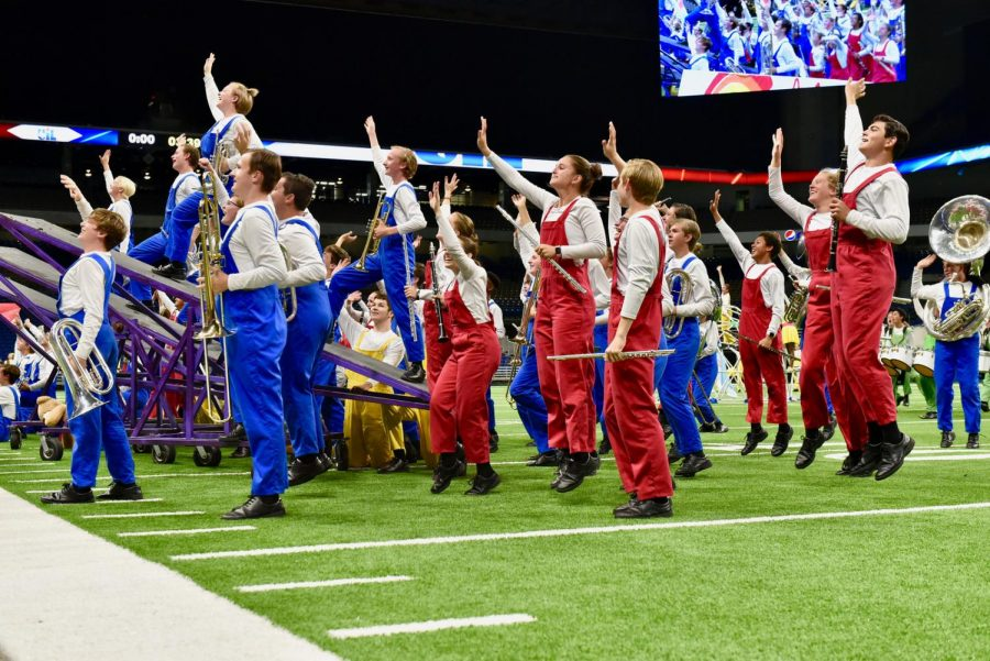 Highlander Band Brings Home Second Place After State Marching Competition