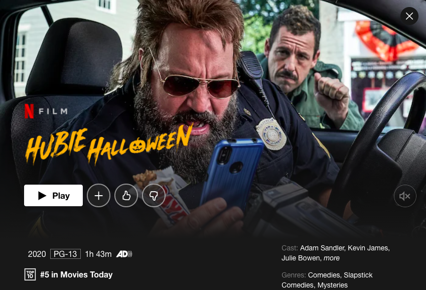 Netflix%27s+%22Hubie+Halloween%22+stars+Adam+Sandler%2C+along+with+other+big+names.
