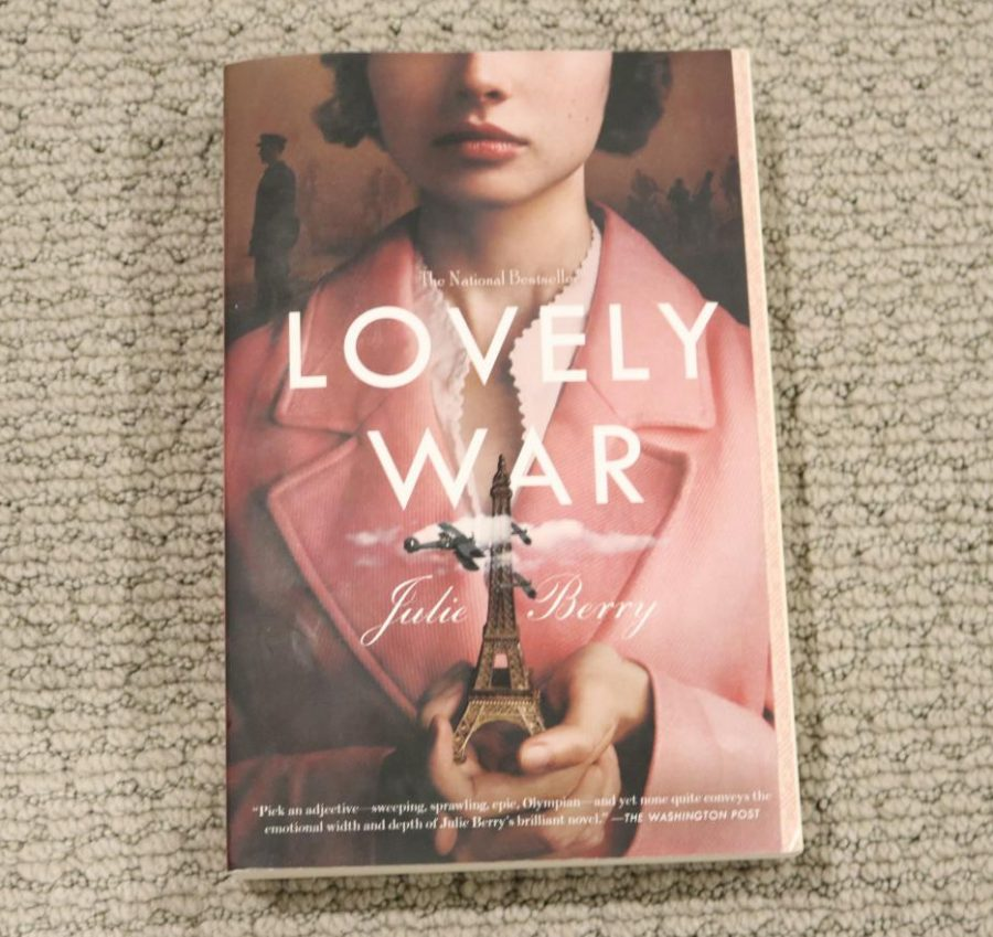 Lovely War, is written by Julie Berry. It tells the story of four characters, Hazel, James, Aubrey and Colette adjusting to their new life in the midst of World War I.