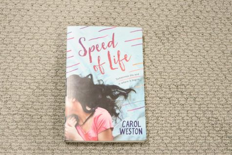 """""""Speed of Life,"""" written by Carol Weston. Tells the story of a girl who overcomes the death of her mother and now appreciates the little things in life."""